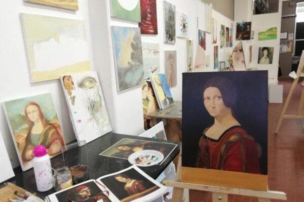 Art with Love: uno spazio gratuito a Firenze per dipingere con amore