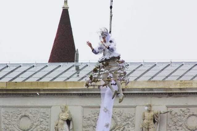Carnevale di Venezia 2010 - Volo dell