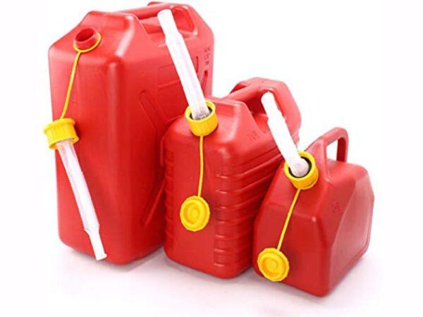 Taniche per gasolio, trasportare la benzina in completa sicurezza