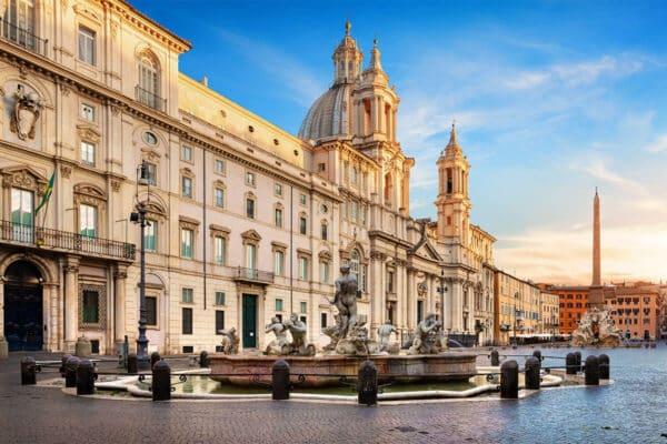 Piazza Navona, nata per essere uno stadio